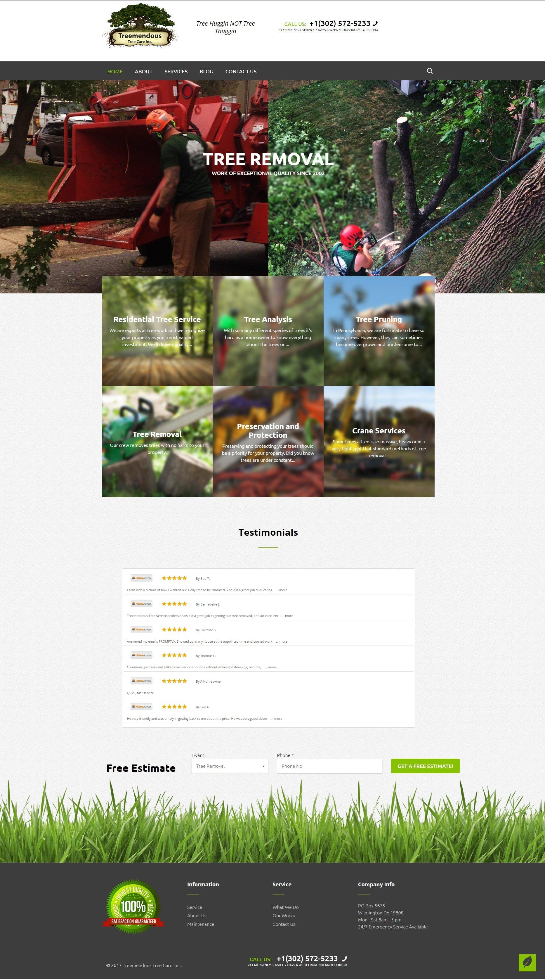 Tree Service Website Development - Treemendous Tree Services Lite.jpg